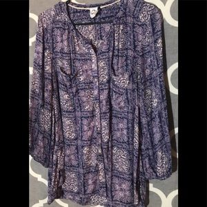 Anthropologie akemi kin top